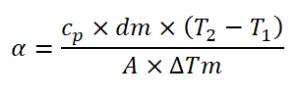 Fórmula transferica calórica 1