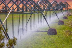 Irrigación de pivote