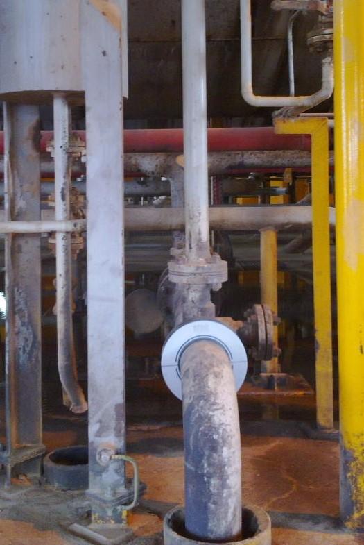 Instalación de tratamiento de aguas industriales en alta mar